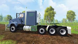 2015 kenworth truck t800 for farming simulator 2015
