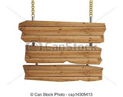 3d wooden sign board isolated clipart search illustration