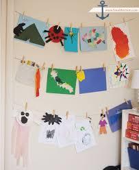 Hanging Art Height Best 25 Hang Kids Artwork Ideas On Pinterest Displaying Kids