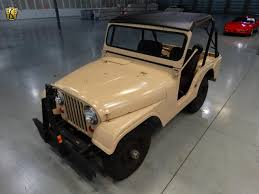 military jeep willys for sale 1956 jeep willys cj5 gateway classic cars 190
