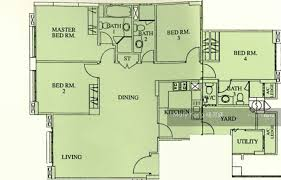 east meadows floor plan east meadows 30 tanah merah kechil road 4 bedrooms 1496 sqft