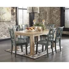 Ashley Furniture Glass Dining Sets Perfect Decoration Dining Table For 6 Fancy Inspiration Ideas