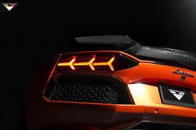 lamborghini aventador rear lights vorsteiner lamborghini aventador lp 740 rear light forcegt com