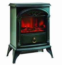 amazon com comfort zone electric u201cstove style u201d fireplace heater