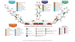 Frontier Flight Map Southwest Florida International Airport Full Terminal Map