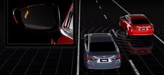 Blind Spot Alert I Activsense Safety Technology Innovation Mazda Canada