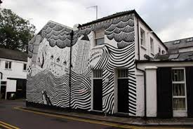 black and white painting ideas cool colors 10 crazy painted houses home painting ideas