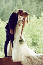 beautiful wedding rustic and beautiful wedding gown from pronovias