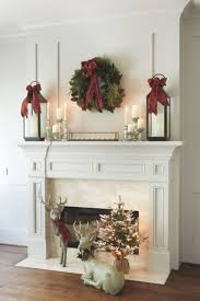 Shabby Chic Fireplace Mantels by Best 20 Christmas Fireplace Mantels Ideas On Pinterest Decorate