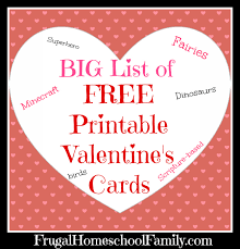 valentines cards list of free printable s cards