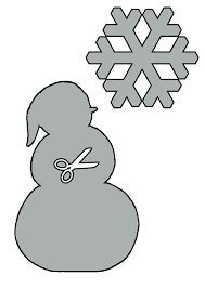 6 best images of christmas snowman stencils printable free