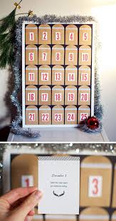 christmas calendar diy christmas countdown calendar ideas tutorials 2017