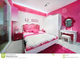stylish pink bedroom stock photos image 28023893