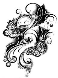 butterfly tribal design tattoos book