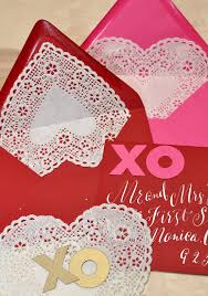 heart shaped doilies heart shaped doilies as envelope liners diy