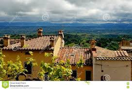 Montepulciano Italy Map by Rooftop View Of Tuscany From Montepulciano Italy Stock Photo