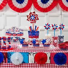 july 4th decorations festive july 4th party decor cupcakes patriotic july 4 july 4th