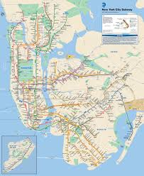 New York Pocket Map by New York City Subway Map Wikiwand