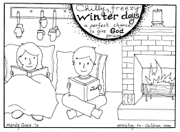 colouring pages winter winter scene coloring pages coloring