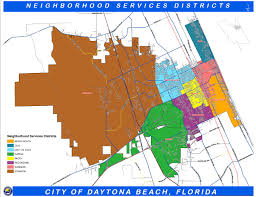 Orange City Florida Map by Daytona Beach Fl Official Website Geographic Information