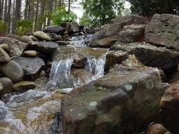 building waterfalls streams backyard and yard design for village