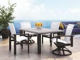 homecrest elements aluminum low back dining chair 51370
