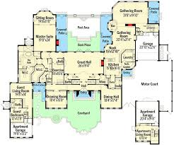 mediterranean mansion floor plans mediterranean mansion 63268hd architectural designs house plans