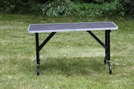 diy dog grooming table hemlock hollow dog training with chris danker cpdt ka kpa ctp the