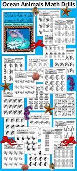 math drills rounding summer math activities animals summer math drills math