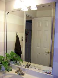 Bathroom Mirror Home Depot by Mirror Framing Kit Diy From Home Depot B A T H R O O M