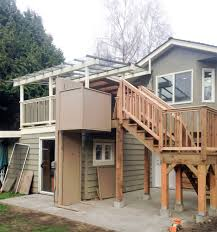 vancouver custom porch lift hme stairlifts
