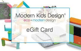 gift cards for kids gift card modern kids design