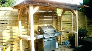 abri cuisine abri cuisine exterieure comment construire un abri pour barbecue