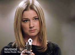 margo revenge hairstyles revenge emily marries jack victoria dies series finale recap