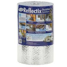 reflectix 16 in x 25 ft double reflective insulation with staple