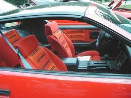 third camaro z28 lear siegler camaro conteur interior history third generation f