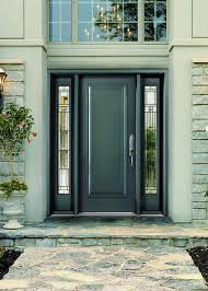 Steel Exterior Doors With Glass Image Of Awesome Steel Entry Doors With Decorative Glass For