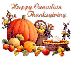 happy thanksgiving weekend canada and kick