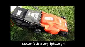 black and decker corded lawn mower mm1800 youtube