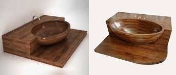 unique wood wooden bathtubs a delight for the senses and your home decor