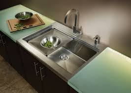 Kitchen  Awesome Kitchen Sinks Lowes Home Depot With Grey Metal - Standard kitchen sinks