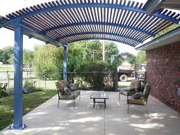 steel shade pergolas provide a shade covering for your patio or
