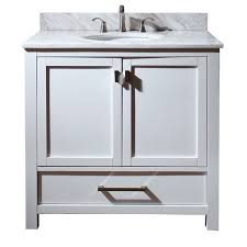 home u003e 36 inch single sink bathroom vanity with choice of top