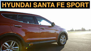 nissan murano vs hyundai santa fe 2015 hyundai santa fe sport off road and track review youtube