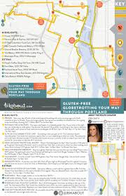 Portland Brewery Map by Gluten Free Globetrotting Your Way Through Portland U2014 Bikabout