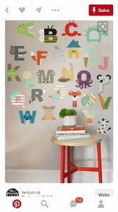 28 best pre school classroom decor images on pinterest 26 individual letters approx 6 hperfect for a childrens room nursery or daycare fully removable and reusable wall decals that will brighten and add