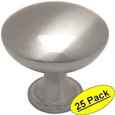 cosmas satin nickel cabinet hardware cosmas 5305sn satin nickel traditional round solid cabinet hardware