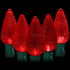 led lights 50 c9 faceted led bulbs 8 spacing 34 2