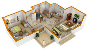 home design blueprints home design plans 3d remarkable 3d floor plans house design plan