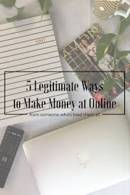 5 legitimate ways to earn money online jj lauren u0027s loves